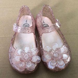 Wonder nation adorable glitter sandals